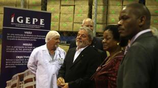 Visita do ex-presidente Luiz Inácio Lula da Silva a Maputo, capital do Moçambique