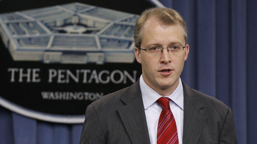 جورج لیتل، سخنگوی وزارت دفاع آمریکا