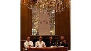 Отель Plaza Athénée. Встреча поворов глав государств