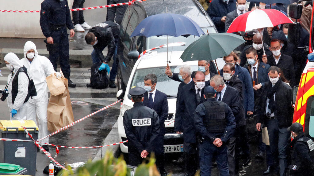 Police detain 7 suspects over Paris knife attack near former offices of Charlie Hebdo