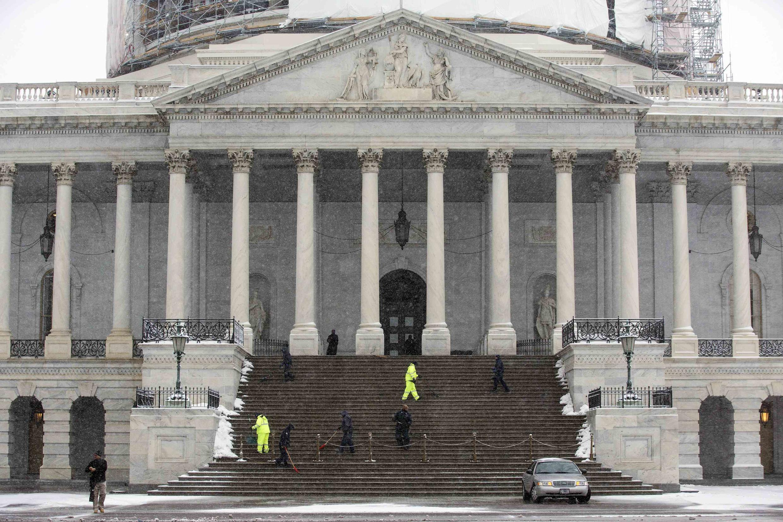 Capitole, Washington, le 26 février 2015. La capitale fédérale américaine accueille ce vendredi une délégation cubaine pour un deuxième cycle de discussions.