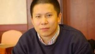 圖為中國新公民運動倡導者許志永