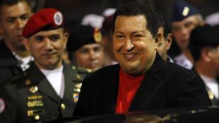 El presidente venezolano Hugo Chávez es el principal promotor del Banco del Sur.