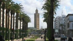 Une vue de Rabat, capitale du Maroc.