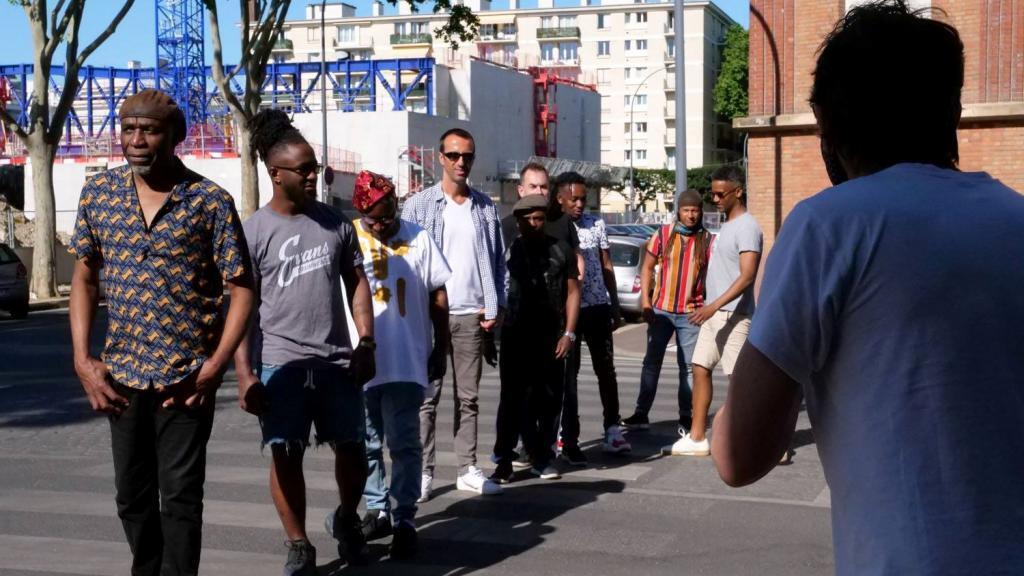 Séance photo Ray Lema et son gang, avec Emanuel Bovet.