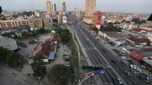 Une vue de Kinshasa, capitale de RDC (image d'illustration).