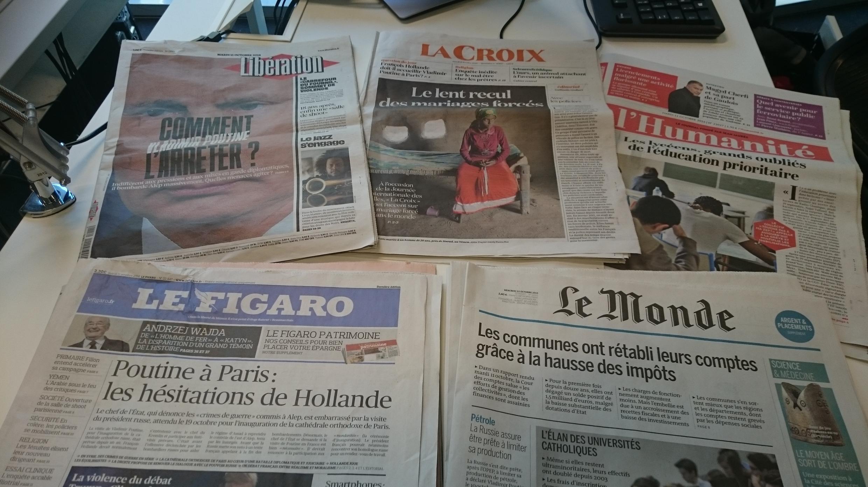 Diários franceses 11.10.2016