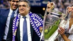 Tsohon shugaban Real Madrid Lorenzo Sanz.