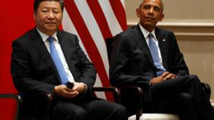 Los presidentes chino y estadounidense, Xi Jinping y Barack Obama, ratificaron el acuerdo firmado en la Cumbre de París, la COP21. 3 de septiembre de 2016.