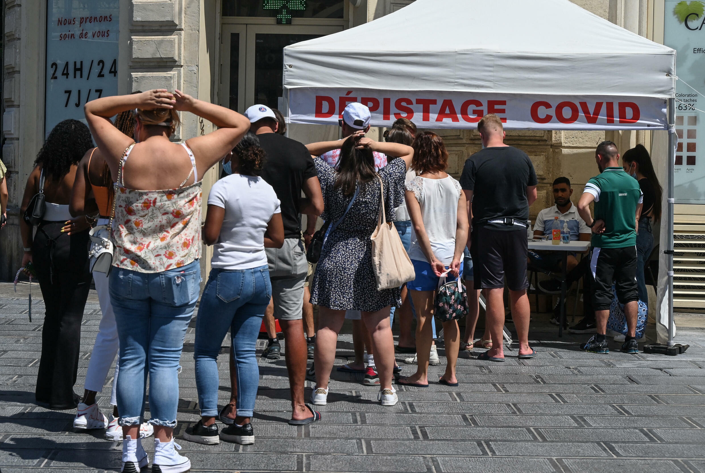 Test Covid França