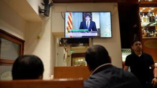 """el independentista Carles Puigdemont, acusó la noche del miércoles al rey de España de ignorar """"deliberadamente a millones de catalanes""""."""