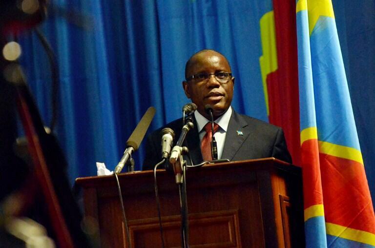 Aubin Minaku, président de l'Assemblée nationale de la République démocratique du Congo.