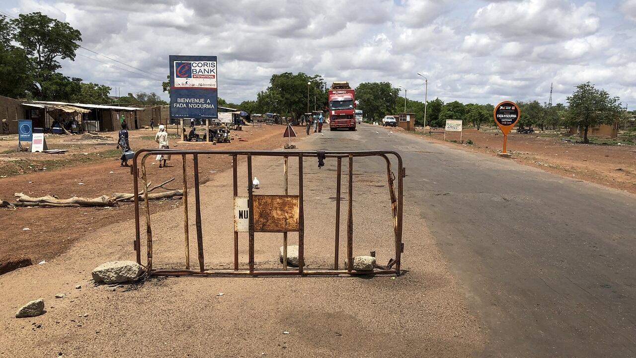 PHOTO Burkina Faso Checkpoint Fada N'Gourma - 10 juillet 2020