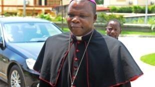 L'archevêque de Bangui, le cardinal Dieudonné Nzapalainga.