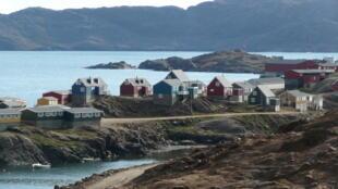 Tasiilaq, cidade situada ao sudoeste da Groelândia.