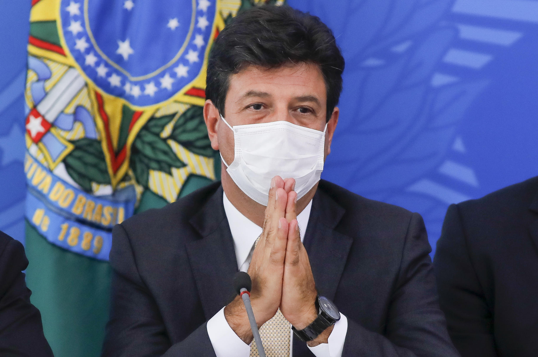 Health Minister Luiz Henrique Mandettat takes President Jair Bolsonaro's snubs in his stride