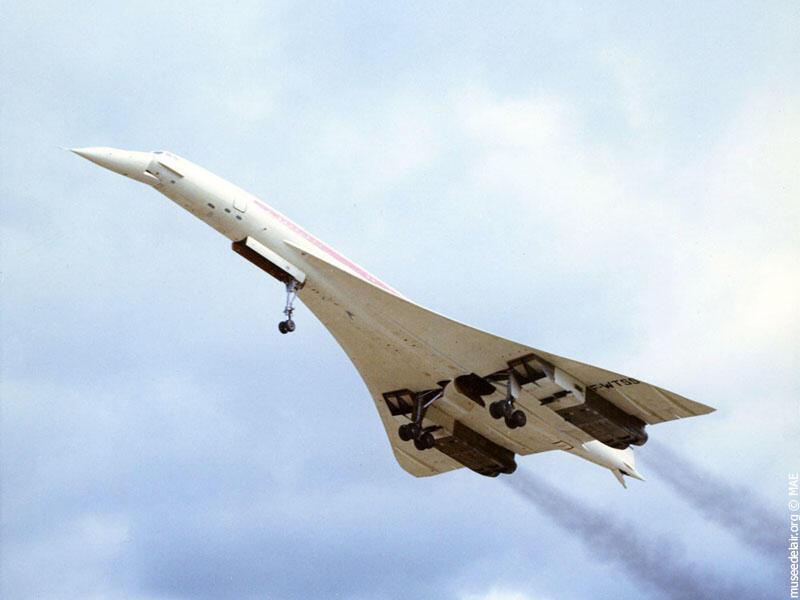 """Легендарный """"Конкорд"""" совершил свой первый испытательный полет в 1969 году в Бланьяке, близ Тулузы."""