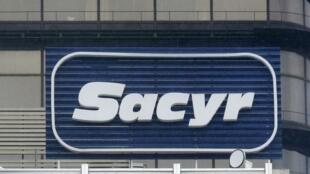 Logo de la empresa española Sacyr.