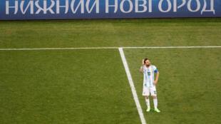 Messi, el jugador en su laberinto.