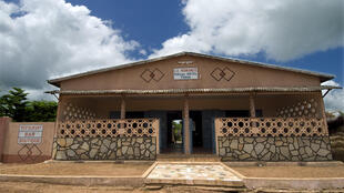 Un hôtel de Porga, dans la région d'Atakora, au Bénin.