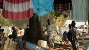 Une scène de rue à Juba, capitale du Sud-Soudan.