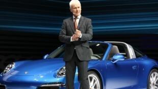 德国大众汽车首席执行长米勒