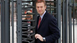 Alexei Navalny មេដឹកនាំក្រុមប្រឆាំងនៅម៉ូស្កូ
