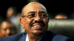 Le président Omar el-Béchir au 25ème sommet de l'Union africaine à Johannesburg, le 14 juin 2015.