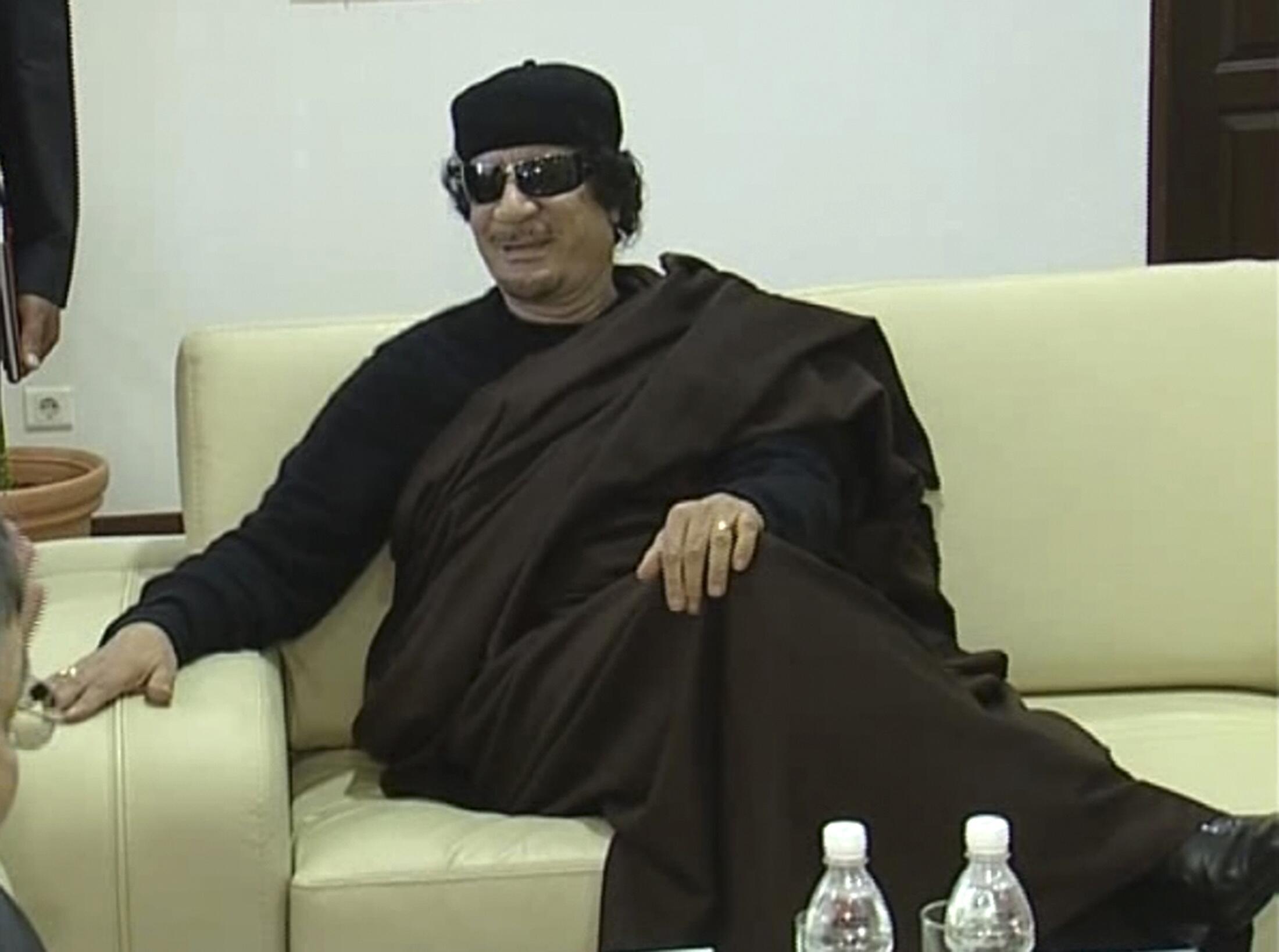 Kiongozi wa Libya, Kanali Muamer Gaddafi