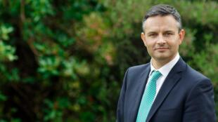圖為新西蘭綠黨共同領袖蕭奧環境部長(James Shaw)
