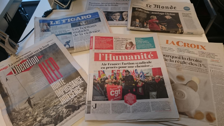 Diários franceses 27.09.2016