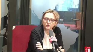 Florence Berthout, maire du Ve arrondissement de Paris.