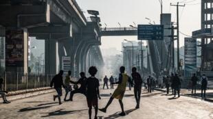 Une rue d'Addis-Abeba, la capitale ethiopienne (image d'illustration).