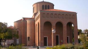Façade de l'église Sant'Antonio à Venise, en Italie. (Photo d'illustration)