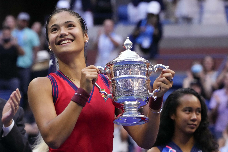 A tenista britânica, Emma Raducanu, venceu o US Open.