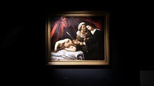 «Judith et Holopherne» attribué à Caravage. Il a été vendu aux enchères à Toulouse.