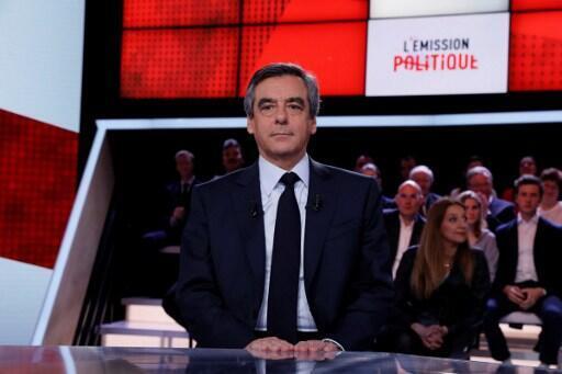 François Fillon katika makala ya kisiasa kwenye televisheni ya France 2, Alhamisi tarehe 23 Machi.