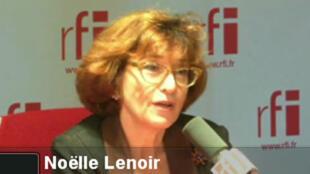 Noëlle Lenoir, déontologue de l'Assemblée nationale.