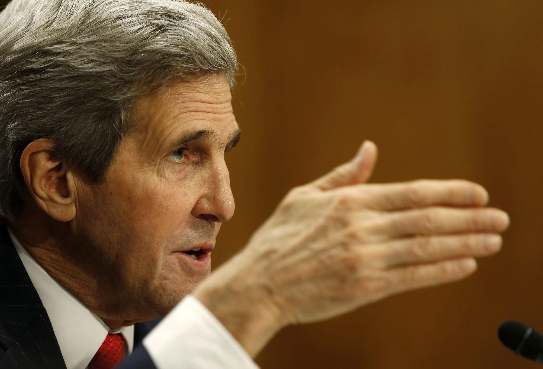 Le secrétaire d'Etat américain John Kerry.