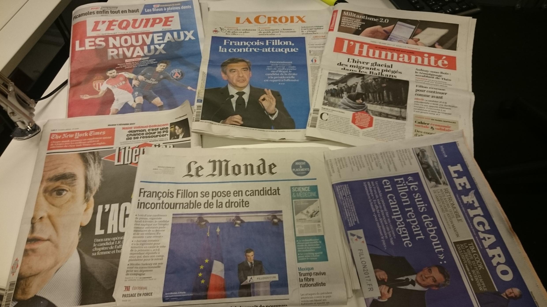 Diários franceses 07.02.2017