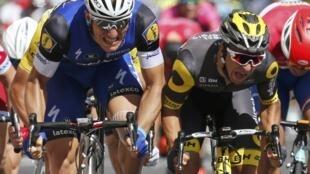 Germany's Marcel Kittel earns 9th career Tour de France stage win