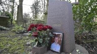 在英國遭毒殺的前克格勃特工利特維年科墓地