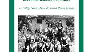 """Capa do livro """"A influência francesa na socialização das elites femininas brasileiras"""", de Angela Xavier de Brito."""