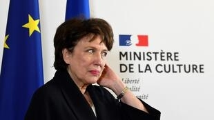 French culture minister Roselyne Bachelot.