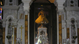 Statue à l'effigie de Notre Dame de la Charité d'El Cobre.