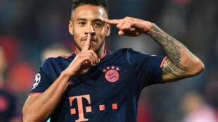 Le milieu de terrain français du Bayern Munich Corentin Tolisso.