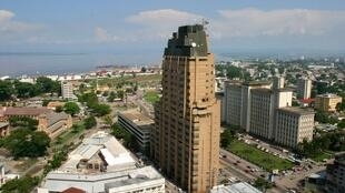 Vue de Kinshasa, en République démocratique du Congo.