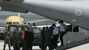 O corpo do escritor José Saramago chegou neste sábado a Portugal.