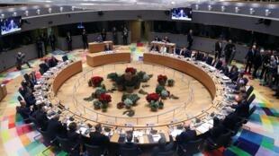 Hội nghị tại Ủy ban châu Âu ở Bruxelles, Bỉ, ngày 12/12/2019.