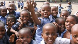 La maternelle de l'école de Buguruni (Tanzanie)